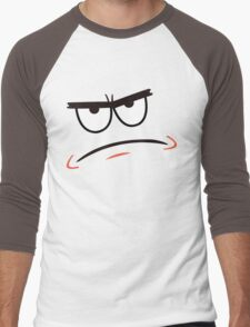 Patrick Star Angry Face Men's Baseball ¾ T-Shirt