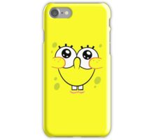 Spongebob Cute Face iPhone Case/Skin