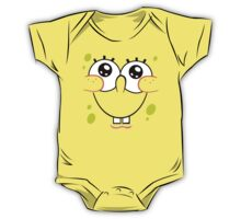 Spongebob Cute Face One Piece - Short Sleeve