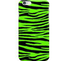 0064 Bright Green Tiger iPhone Case/Skin