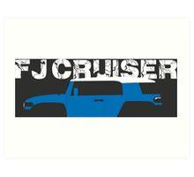 FJ Cruiser Art Print
