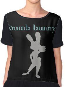 Zootopia / Zootropolis - Judy Hopps Dumb Bunny Chiffon Top