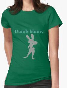 Zootopia / Zootropolis - Judy Hopps Dumb Bunny Womens Fitted T-Shirt