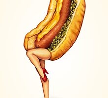 Let's All Go to the Lobby - Hot Dog Girl by Kelly  Gilleran
