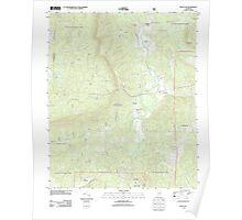 USGS TOPO Map Alabama AL Bulls Gap 20110921 TM Poster