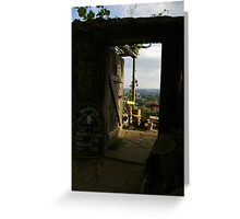 Saxon Vineyards Greeting Card