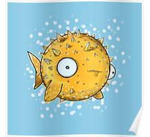 Pufferfish Poster
