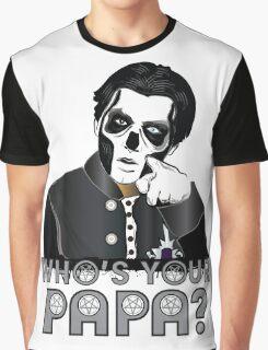 WHO'S YOUR PAPA? - papa 3 - design 4 Graphic T-Shirt