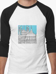 Blue Domes Men's Baseball ¾ T-Shirt