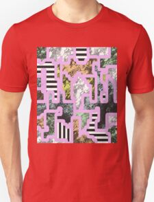Paint Segregation - Abstract, multi patterned collage Unisex T-Shirt