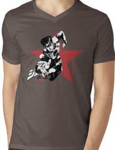Josuke Higashikata - Jojo's Bizarre Adventure Mens V-Neck T-Shirt