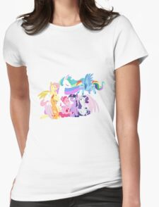 Equestria's Harmony Womens Fitted T-Shirt
