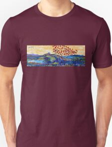 Moyhastin Panorama: from Clew Bay to the Sheeffry Hills - Mayo Unisex T-Shirt