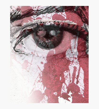 your blood in my eye Photographic Print