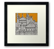 Yellow Dome Framed Print