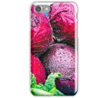 Fresh Red Cabbage iPhone Case/Skin