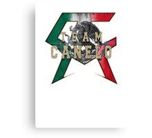Canelo Saul Alvarez boxer Logo (T-shirt, Phone Case & more) Canvas Print