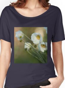 In the footsteps of angels - Windflower Women's Relaxed Fit T-Shirt