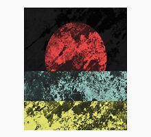 Sunset Beach - Abstract, Marble Effect Painting T-Shirt