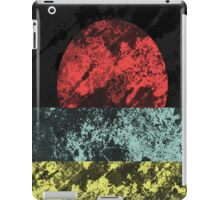 Sunset Beach - Abstract, Marble Effect Painting iPad Case/Skin