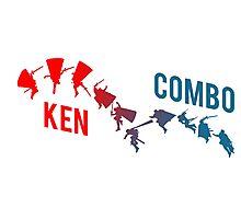 Ken Combo Shirt Photographic Print