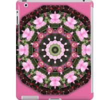 Pink blossoms, Flower Mandala iPad Case/Skin