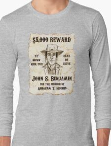 Slim Wanted Poster - Selling Silence Long Sleeve T-Shirt
