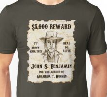 Slim Wanted Poster - Selling Silence Unisex T-Shirt