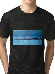 Ballycotton, Rain and Shine - Cork Tri-blend T-Shirt