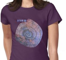 Intimacy = INTO MY SEA Womens Fitted T-Shirt