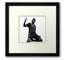Paul Pogba | Juventus | France Framed Print