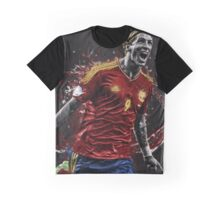 Fernando Torres - Splatter Graphic T-Shirt