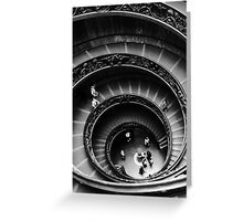Musei Vaticani: Descent Greeting Card