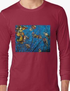 Golden Leaves III Long Sleeve T-Shirt