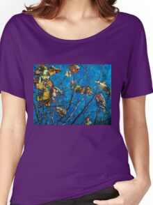 Golden Leaves III Women's Relaxed Fit T-Shirt