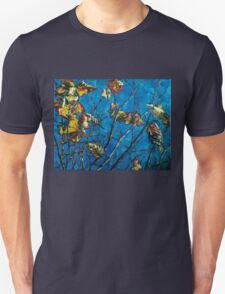Golden Leaves III Unisex T-Shirt