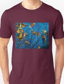 Golden Leaves III Unisex T-Shirt