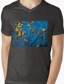 Golden Leaves III Mens V-Neck T-Shirt