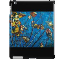 Golden Leaves III iPad Case/Skin