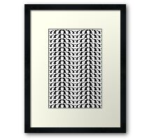 Classical cats wave Framed Print