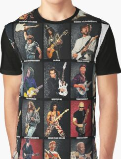 Greatest Guitarists Of All Time Graphic T-Shirt