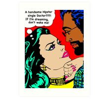 Love at first sight Art Print