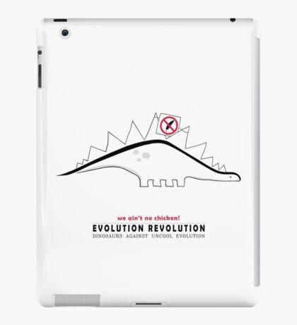 Evolution Revolution - Stegosaurus - English iPad Case/Skin