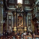 Tomb of St Ignatius Loyola, Church Gesu, Rome Italy19840719 0035  by Fred Mitchell