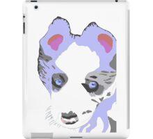 Collie Puppy blue merle iPad Case/Skin