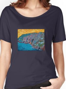 Slieve League, Donegal Women's Relaxed Fit T-Shirt