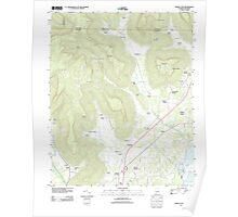 USGS TOPO Map Alabama AL Doran Cove 20111013 TM Poster