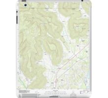 USGS TOPO Map Alabama AL Doran Cove 20111013 TM iPad Case/Skin