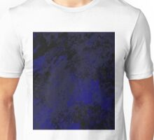 Urban Sky - Abstract In blue And Black Unisex T-Shirt