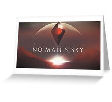 No Man's Sky Greeting Card